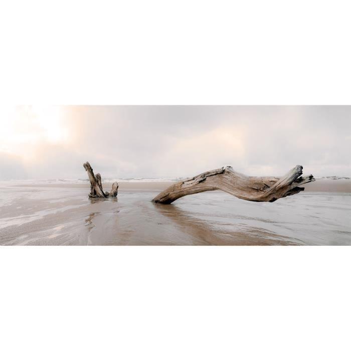 tableau panoramique design bois flott mati re achat