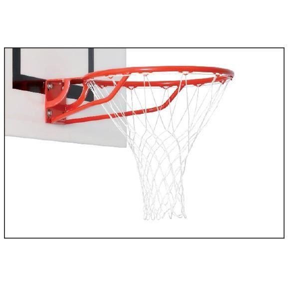 Filets de basket blanc en polypropyl ne diam tre du fil prix pas che - Diametre panier de basket ...
