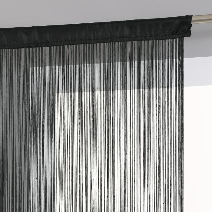 rideau fil exterieur achat vente rideau fil exterieur pas cher cdiscount. Black Bedroom Furniture Sets. Home Design Ideas