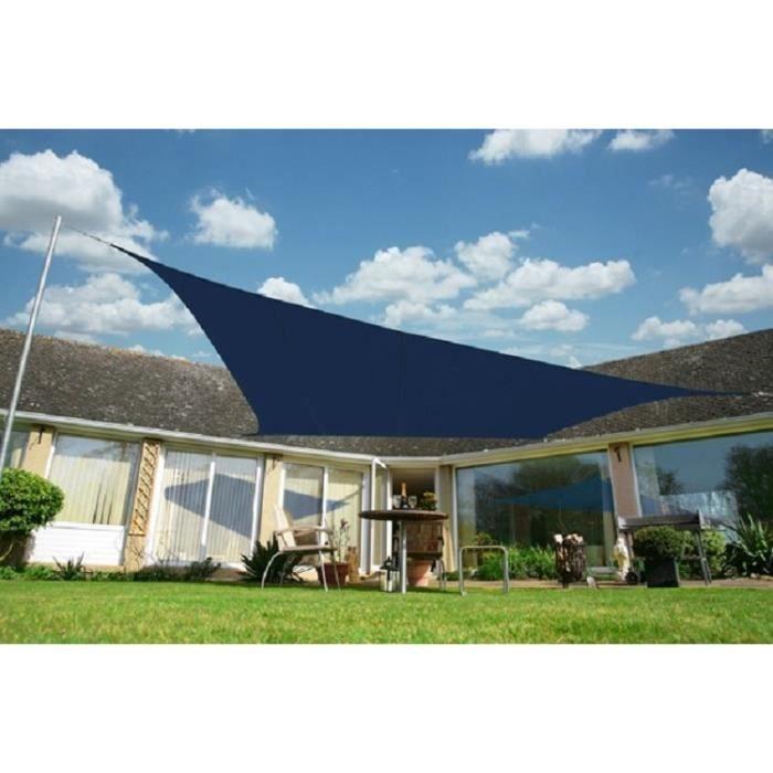 kookaburra voile d 39 ombrage imperm able 5 0m 4 0m rectangle bleu achat vente voile d. Black Bedroom Furniture Sets. Home Design Ideas