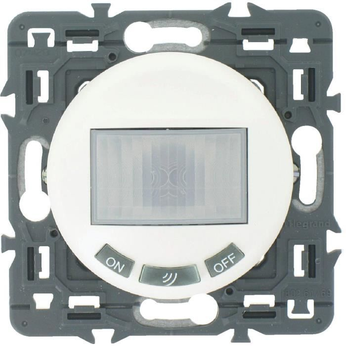 Legrand interrupteur automatique 300w c liane blanc livr avec enjoliveur blanc achat - Interrupteur automatique legrand ...