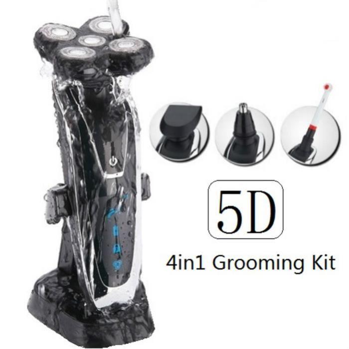 100 240v 5d rasoir rasoir lectrique pour barbe et bimao brosse dents rechargeable machine. Black Bedroom Furniture Sets. Home Design Ideas