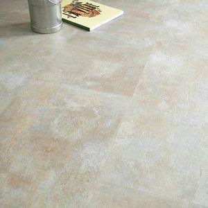 Dalle sol pvc click 5g pierre calcaire achat vente sols pvc plinthe - Sol vinyle sans colle ...