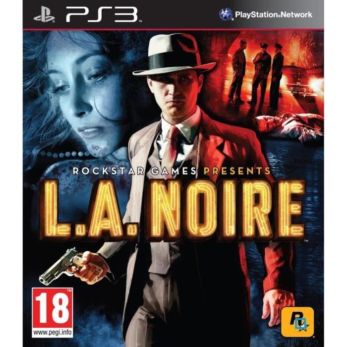 JEU PS3 L.A. NOIRE / Jeu console PS3