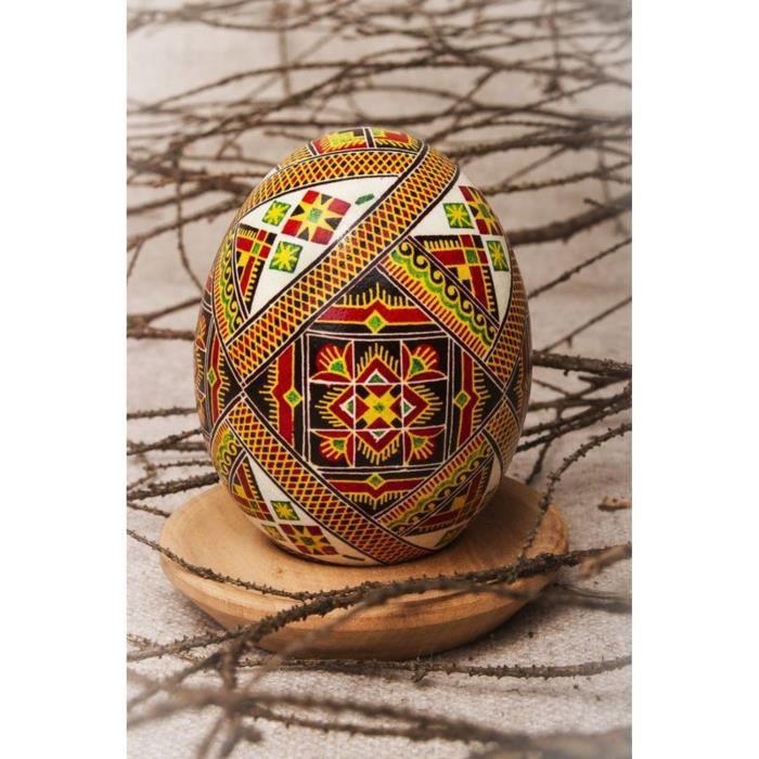 Pyssanka de l 39 int rieur avec ornement achat vente - Objet decoratif original ...