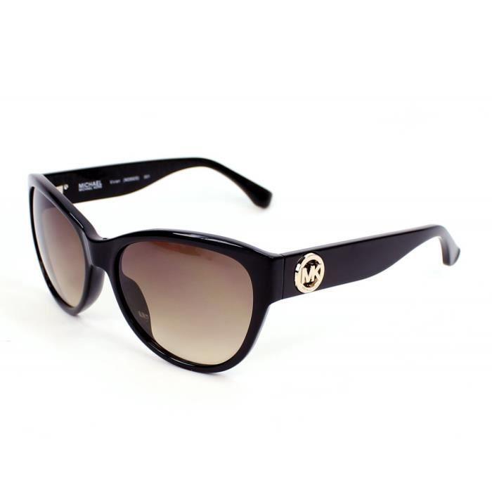 lunettes de soleil michael kors m2892s vivian 1 noir noir achat vente lunettes de soleil