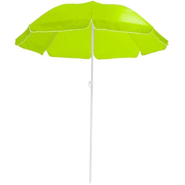 parasol de plage soleil pliable diam tre 180cm vert prix pas cher soldes d t cdiscount. Black Bedroom Furniture Sets. Home Design Ideas