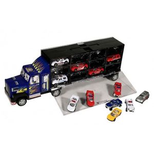 camion transporteur de voitures achat vente jeux et jouets pas chers. Black Bedroom Furniture Sets. Home Design Ideas