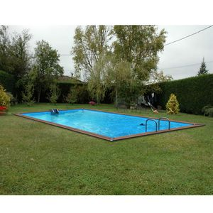 Piscine bois 4 metres sur 3 metre achat vente piscine for Piscine waterclip avis