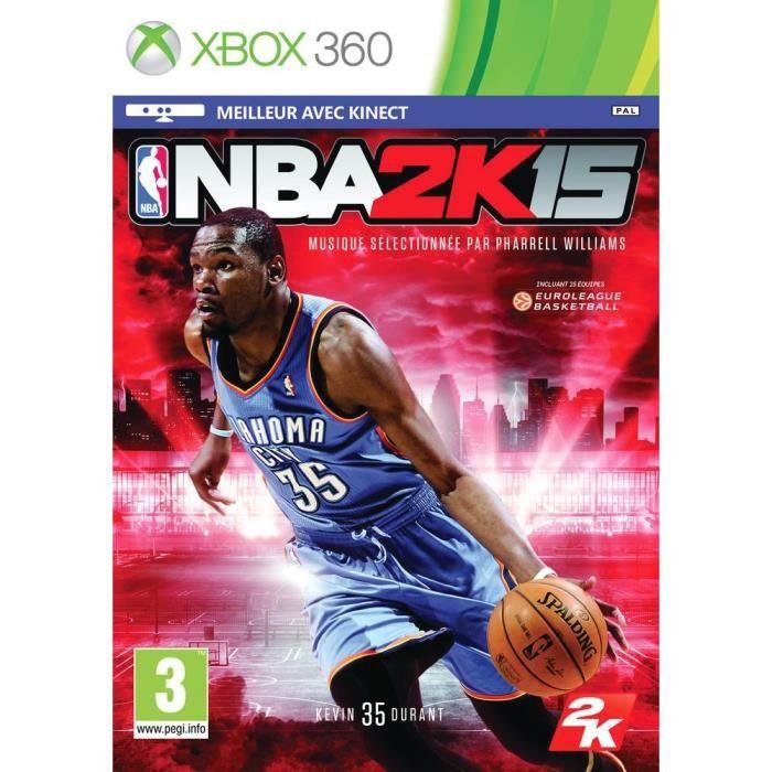 JEUX XBOX 360 NBA 2K15 Jeu XBOX 360