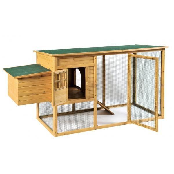 poulailler cocorico 201 x 75 5 x 103 cm achat vente. Black Bedroom Furniture Sets. Home Design Ideas