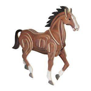 legler puzzle en 3d cheval en bois achat vente puzzle cdiscount. Black Bedroom Furniture Sets. Home Design Ideas