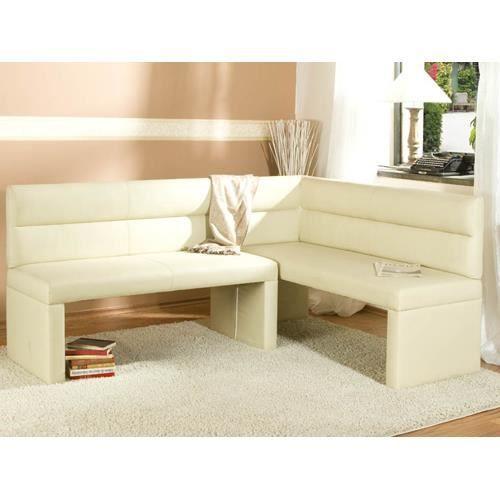 banc d 39 angle mathis 160x210 avec dossier recouvert achat vente banc cdiscount. Black Bedroom Furniture Sets. Home Design Ideas