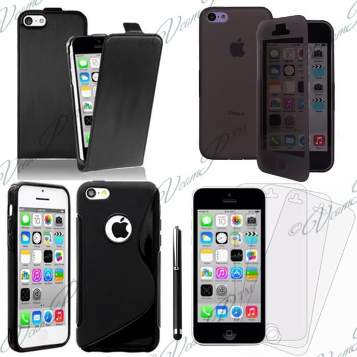 accessoires cuir slim ultra fine pour apple iphone 5c. Black Bedroom Furniture Sets. Home Design Ideas