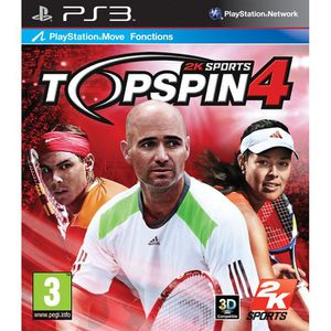JEU PS3 TOP SPIN 4 / Jeu console PS3
