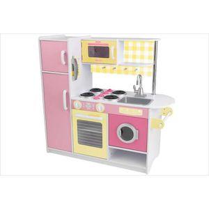 Cuisine enfant bois rose achat vente jeux et jouets for Cuisine kidkraft rose