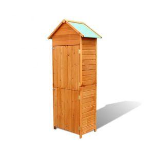 armoire rangement bois exterieur achat vente armoire. Black Bedroom Furniture Sets. Home Design Ideas