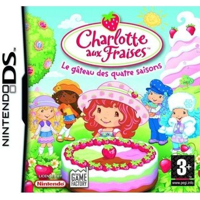 Charlotte aux fraises achat vente jeu ds dsi - Jeux de charlotte aux fraises cuisine gateaux ...