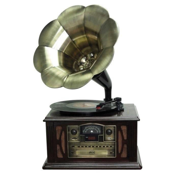 lauson cl140 tourne disque gramophone platine vinyle avis et prix pas cher soldes cdiscount. Black Bedroom Furniture Sets. Home Design Ideas