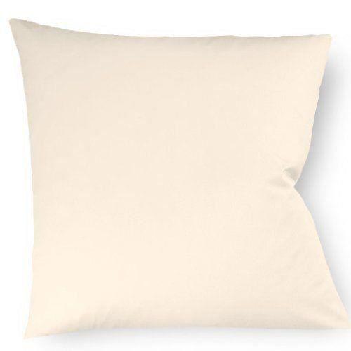 fleuresse taie d 39 oreiller couleurs 9100 2610 40x40 cm satin maco couleur naturel 100 coton. Black Bedroom Furniture Sets. Home Design Ideas