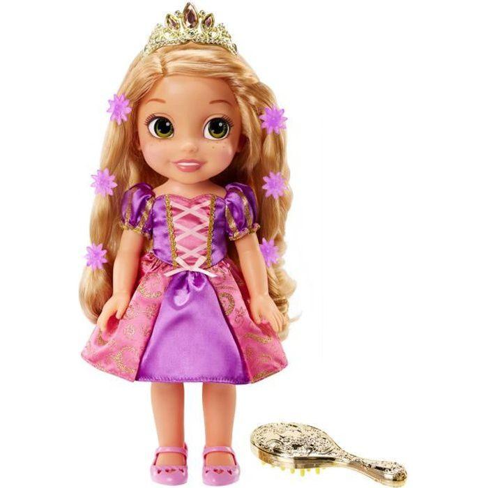 Disney princesse poup e raiponce chantante et lumineuse 38 cm achat vente poup e cdiscount - Disney raiponce ...