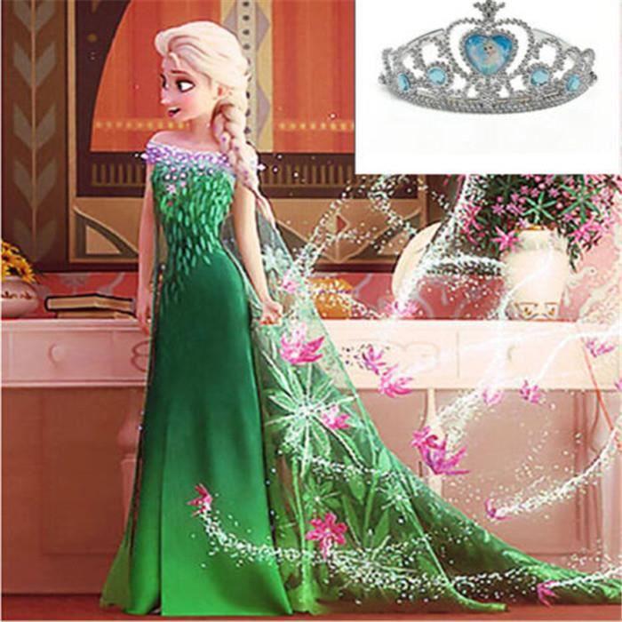 Robe d guisement costume la reine des neiges frozen elsa - La reine de neiges 2 ...