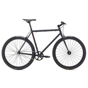 VÉLO DE COURSE - ROUTE Vélo fixie Fuji DECLARATION noir 2017