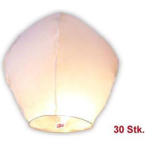 LANTERNE FANTAISIE Lot de 30 lanternes volantes céleste thailandaise