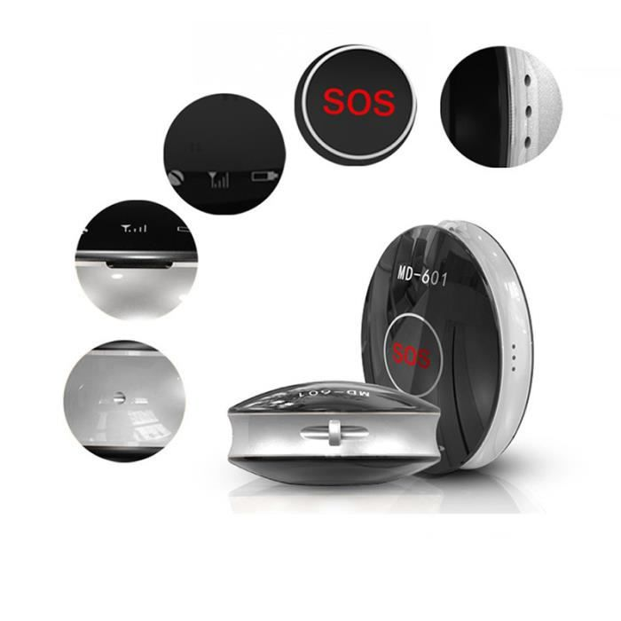 noir mini gps tracker traceur locator sos antilost communication alarme appel pour voiture. Black Bedroom Furniture Sets. Home Design Ideas