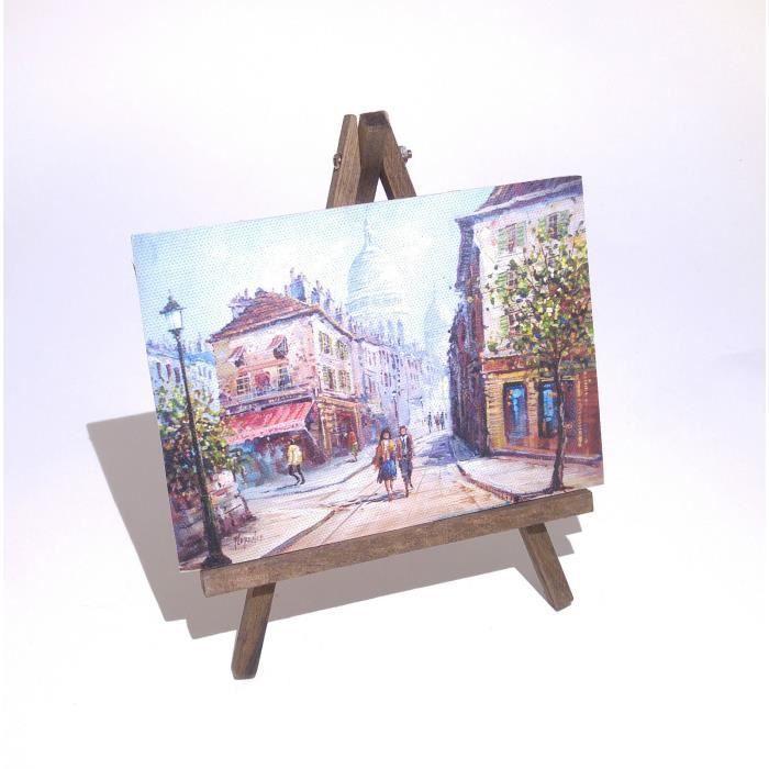 Impression sur bois rues de paris printing on wood - Impression sur tissu maison ...