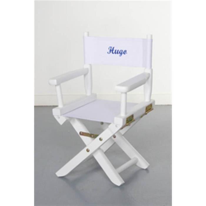 fauteuil de star enfant blanc personnalis achat vente. Black Bedroom Furniture Sets. Home Design Ideas