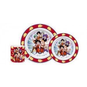 Set vaisselle dragon ball z achat vente assiette for Art de la table vaisselle