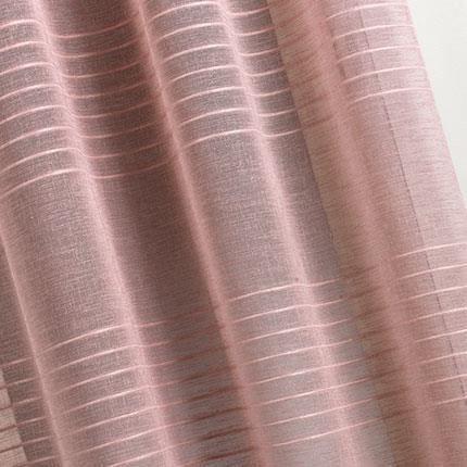 Rideau fantaisie ray bois de rose 140 x 260cm achat for Rideau fantaisie