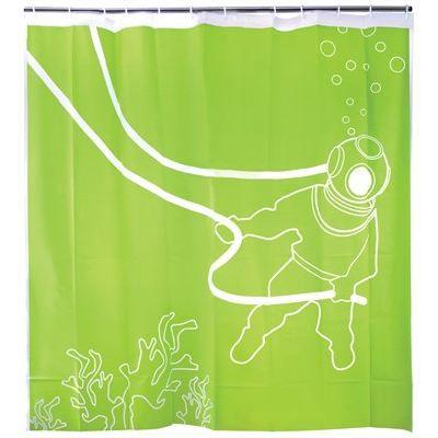 Rideau de douche lieux sous la mer achat vente rideau de douche pv - Rideau de douche insolite ...