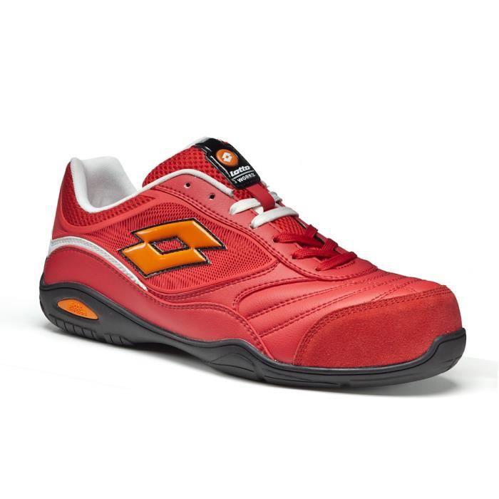 basket de s curit l g re red energy lotto rouge achat vente chaussures de securit cdiscount. Black Bedroom Furniture Sets. Home Design Ideas