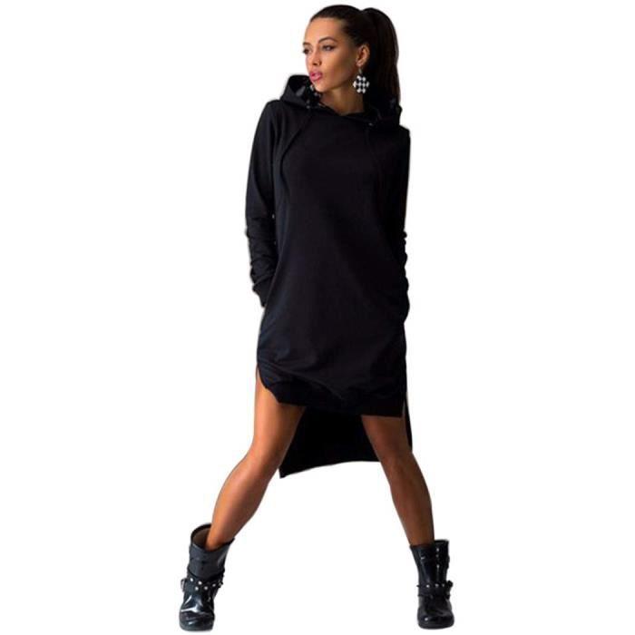 sweat femme long. Black Bedroom Furniture Sets. Home Design Ideas