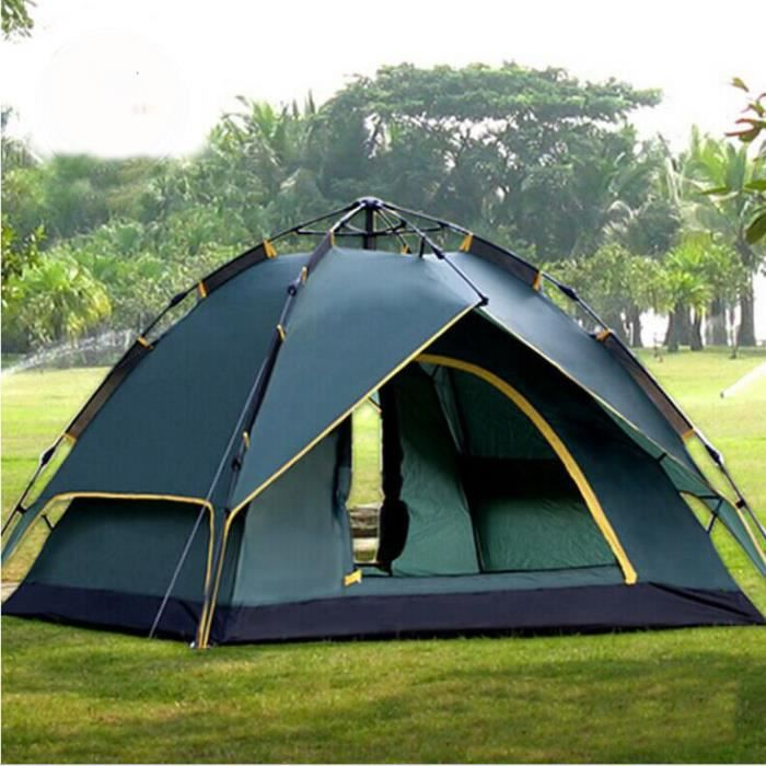 tente camping de double toits automatique familiale. Black Bedroom Furniture Sets. Home Design Ideas