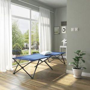 lit de camp achat vente pas cher cdiscount. Black Bedroom Furniture Sets. Home Design Ideas