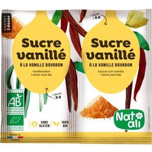 SUCRE - FAUX SUCRE Sucre vanillé 2 x 8 g Bio
