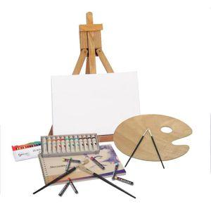 chevalet pour peinture achat vente chevalet pour peinture pas cher cdiscount. Black Bedroom Furniture Sets. Home Design Ideas