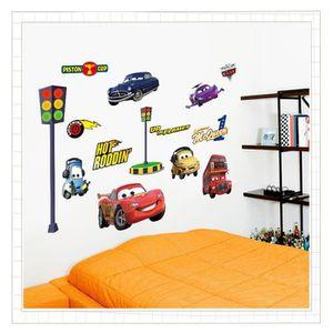 STICKERS IMMIGOO® Cars Stickers Muraux Lightning La Tour Pi
