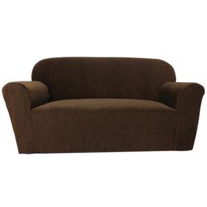 housse canape 3 places achat vente housse canape 3 places pas cher cdiscount. Black Bedroom Furniture Sets. Home Design Ideas