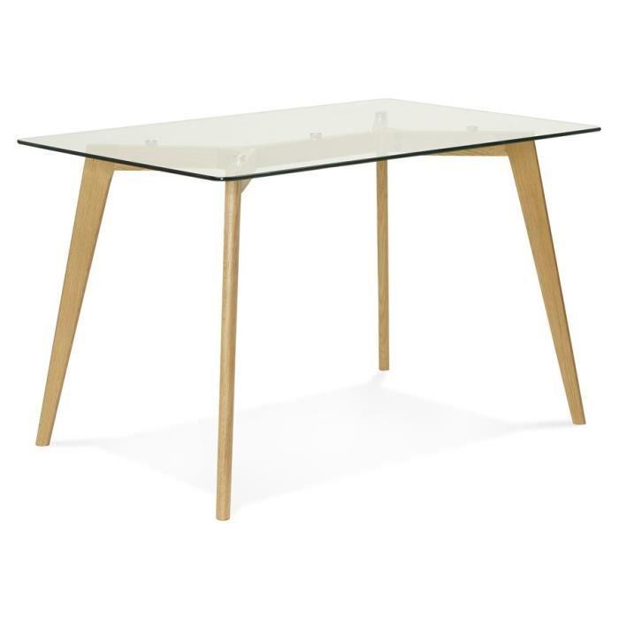Petite table bureau droit 39 gaby 39 en verre achat vente bureau pe - Petite table en verre ...