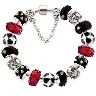 bracelet pandora rouge et blanc