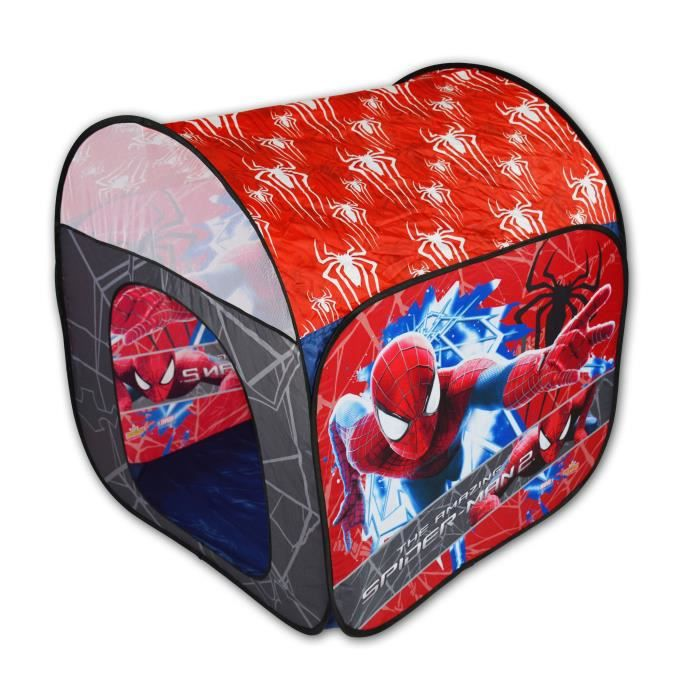 Spiderman tente de jeu pour enfants achat vente table jouet d 39 activit cdiscount - Jeu spiderman gratuit facile ...