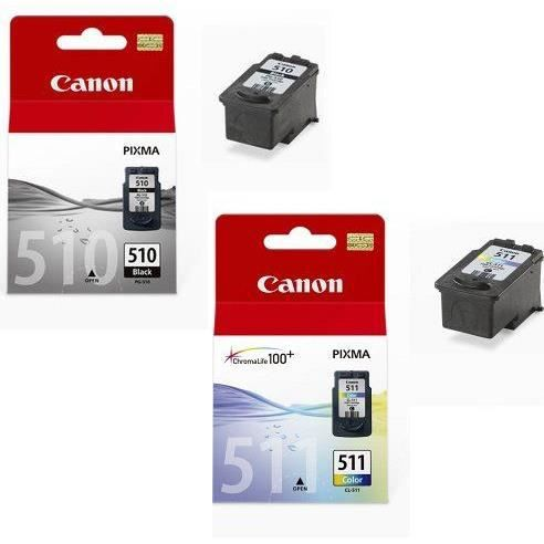 2 cartouches d 39 encre pour imprimante canon pixma mp250. Black Bedroom Furniture Sets. Home Design Ideas