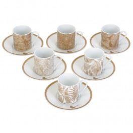 Set de 6 tasses et sous tasses parisiennes achat vente for 2 sous de table