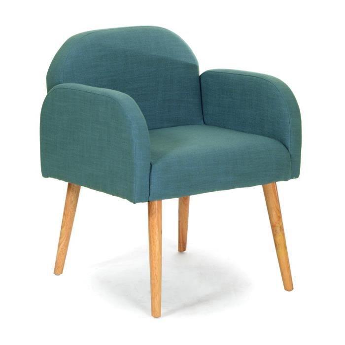 Fauteuil Bleu Turquoise Maison Design Wiblia