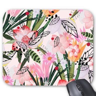 tapis de souris fleurs ref 2506 prix pas cher cdiscount. Black Bedroom Furniture Sets. Home Design Ideas