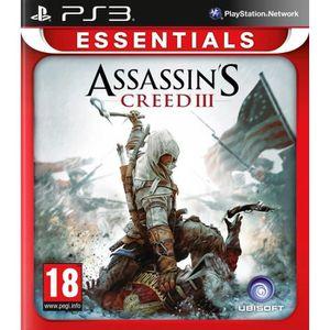 JEU PS3 Assassin's Creed 3 Essentials Jeu PS3